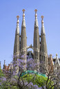 Sagrada Familia (Barcelona) Royalty Free Stock Photo
