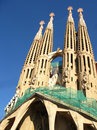 Sagrada Familia in Barcelona Royalty Free Stock Photos
