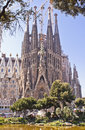 Sagrada familia barcelona nativity facade of the basilica of the holly family Stock Photo
