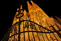 Sagrada Familia in Barcelona, Spain Royalty Free Stock Photography