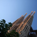 Sagrada familia in barcelona spain Royalty Free Stock Photos
