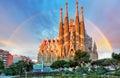 Sagrada Familia, In Barcelona,...