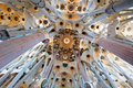 Sagrada Familia, Barcelona, Spain, Europe Stock Image