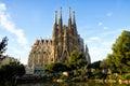 Sagrada Familia In Barcelona, ...