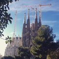 Sagrada familia church Royalty Free Stock Photos