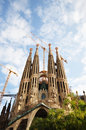Sagrada familia gaudi s most famous church in barcelona spain Royalty Free Stock Photo