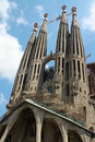 Sagrada familia la spain barcellona Stock Photos
