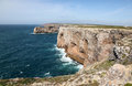 Sagres Coastline Portugal Stock Images