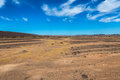 Sahara desert landscape Royalty Free Stock Photo