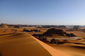 Sahara Desert, Tadrart, Algeria-Libya Royalty Free Stock Photo