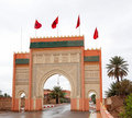 Sahara Gate Stock Photo