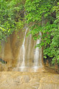 Sai yok noi waterfall is a in the district of kanchanaburi province thailand near the small town nam tok Stock Images