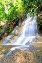 Sai yok noi waterfall the name is the famous tourist attractions in thailand kanchanaburi Stock Photo