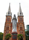 Saigon notre dame basilica officially basilica our lady immaculate conception cathedral located downtown ho chi minh city vietnam Royalty Free Stock Photo