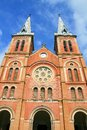 Saigon Notre-Dame Cathredal Royalty Free Stock Image