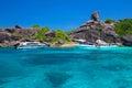 Sail rock, Similan Island, Thailand Royalty Free Stock Photo