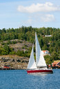 Sail Sweden Royalty Free Stock Photo