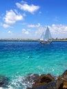 Sailboat in Florida Royalty Free Stock Photo