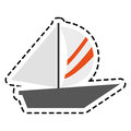 Sailboat icon image