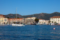 Sailboat At Portoferraio Stock Images