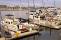Sailboat Yacht Ocean Harbor Marina Royalty Free Stock Image