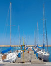 Sailboats in Chanie, Crete Royalty Free Stock Photos