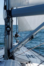 Sailing boat detail Royalty Free Stock Images