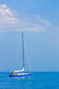 Sailing boat on the high seas see my other works in portfolio Royalty Free Stock Image
