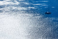 Sailing Boat In Silvery Blue S...
