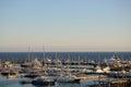 Sailing boats and yachts Royalty Free Stock Photo