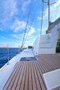 Sailing catamaran Royalty Free Stock Photo