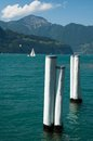 Sailing In Lake Lucerne Royalty Free Stock Photo
