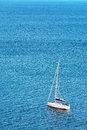 Sailing off the coast of algarve, mediterranic sea Stock Photo