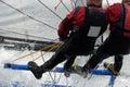 Sailing pair 01 Stock Images