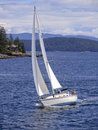 Sailing the Puget Sound Royalty Free Stock Images