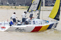 Sailing Race Of The Monsoon Cup 2008 Royalty Free Stock Photography