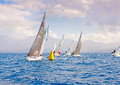 Sailing regatta j in greece Stock Image