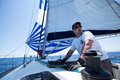 Sailing regatta from Marmaris to Fethiye, Turkey. Stock Photo
