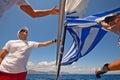 Sailing regatta Sail & Fun Trophy 2012 Royalty Free Stock Image
