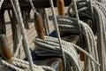 Sailing Ropes Royalty Free Stock Photo