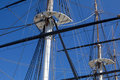 Sailing Ship Masts Royalty Free Stock Images