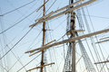 Sailing ship an old big Royalty Free Stock Images