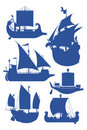 Sailing ships Royalty Free Stock Photo