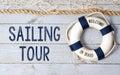 Sailing tour Royalty Free Stock Photo