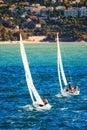 Sailing Towards Cap Martin