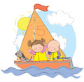 Sailing Trip Royalty Free Stock Photo
