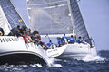 Sailing trophy conde de godo classes offshore racing council orc http trofeocondegodo com es Stock Photo