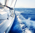 Sailing. Yachting. Luxury Lifestyle Royalty Free Stock Photo