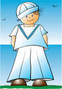 Sailor boy Stock Photo