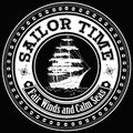 Sailor time fair winds and calm seas for all sailors Royalty Free Stock Photo